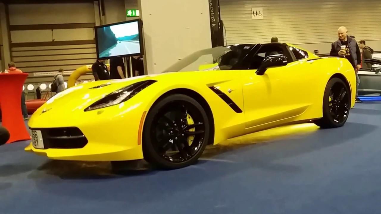 2017 Chevrolet Corvette Convertible Yellow Beast Exterior And Interior