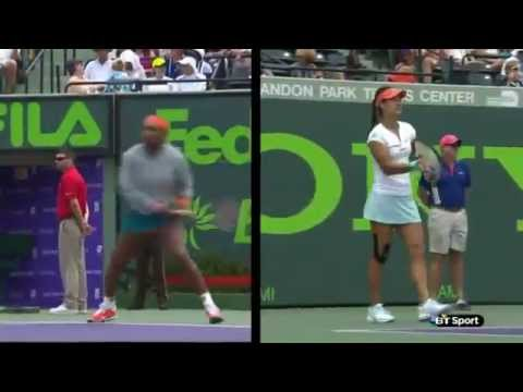 Miami - Serena Williams [1] vs Li Na [2] - Final - Highlights