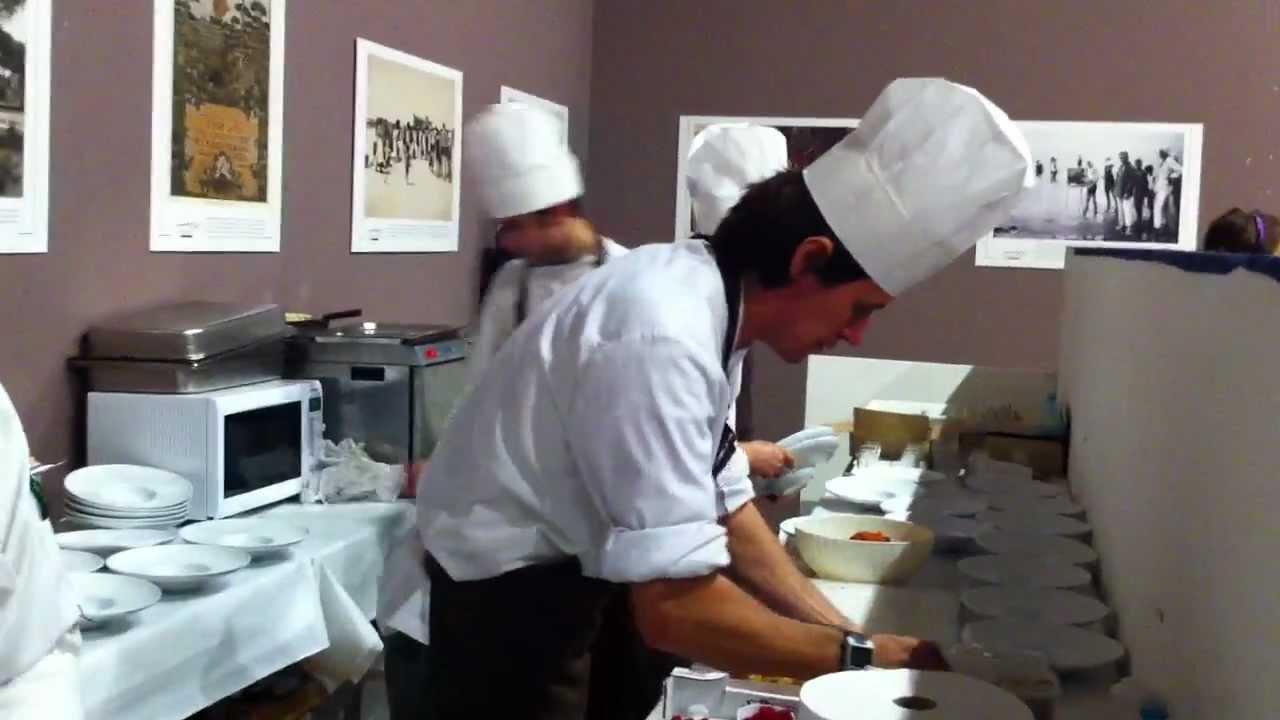 Cena di apertura Sapore di Sale 2012  Terrazza BartoliniMOV  YouTube