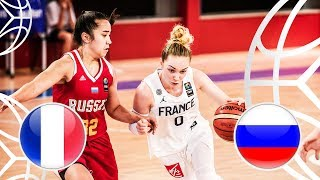 France v Russia - Class. 7-8 - Full Game - FIBA U18 Women's European Championship 2018