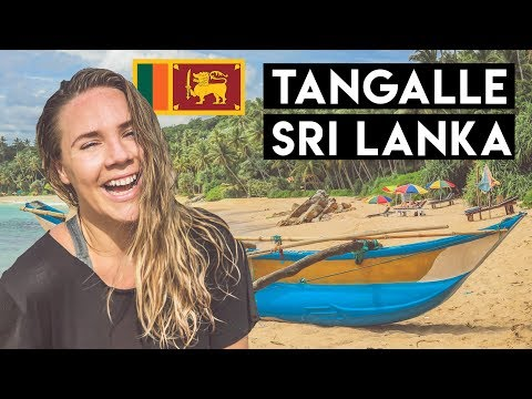 SRI LANKA'S UNDERRATED BEACHES - Tangalle, Silent Beach