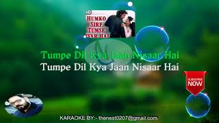 Humko Sirf Tumse Pyar Hai | Barsaat | Song With Lyrics by TheNest