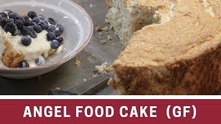 Angel Food Cake~~Gluten Free~~ With a Blooper!