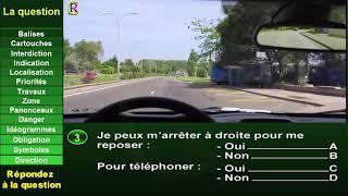Test96 : Nouveaux examen 2019 Code de la route Sérié 01 Question #1