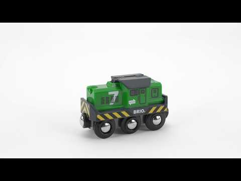 BRIO World - 33214 Battery Powered Freight Engine