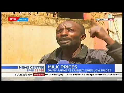 Dairy farmers lament over low milk prices