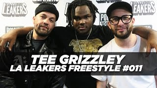 Detroit rapper Tee Grizzley spits some bars for the Los Angeles Lea...