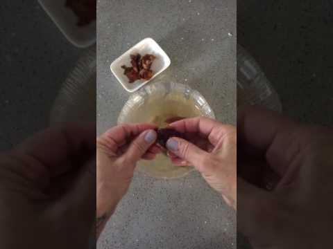 How to Peel and Pit Raw Dates