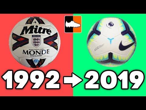 Premier League Evolution!! Champions, Kits & Best Players