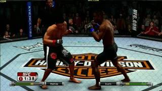 UFC Undisputed 2009 Xbox 360 Video - Machida vs Evans
