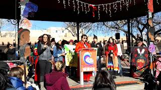 WOMEN'S MARCH SANTA FE  2019 – SANTA FE PLAZA – Terre  3 Sisters collective