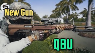 PUBG Mobile New Weapon | QBU Gun All Details