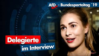 AfD-Parteitag   Die Stimmen der Delegierten