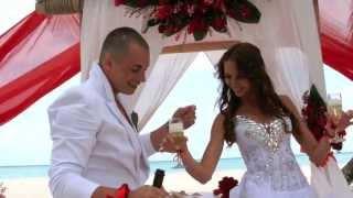 Свадьба на острове Антон и Ольга. Кабриолет