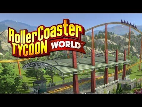 Peachy Plays ♥ Roller Coaster Tycoon World Beta |