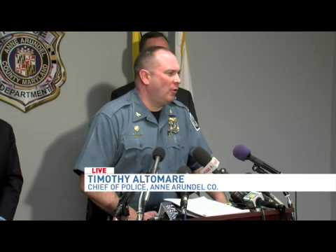 Anne Arundel County police press conference