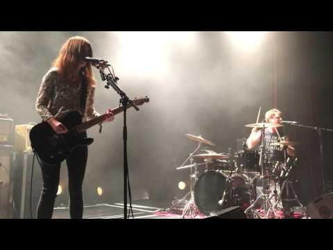 Blood Red Shoes Koeln Full Concert 27.08.2016