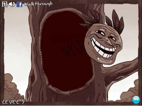 Приключения Троллфейса 3 (Trollface quest 3) прохождение