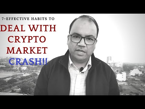 How to deal with a cryptocurrencies market crash? How to minimise the risk when the market is down?