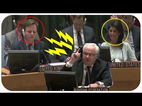 Американке понравилось как Чуркин отчитал Англию в ООН. ПОЛИТИКА НОВОСТИ