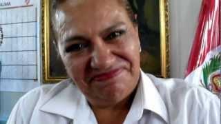 Saludo de la Directora de la GUE. Ricardo Palma de Surquillo, Dra Martha Carpio