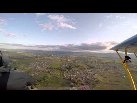 Flying the Breezy Experimental Aircraft