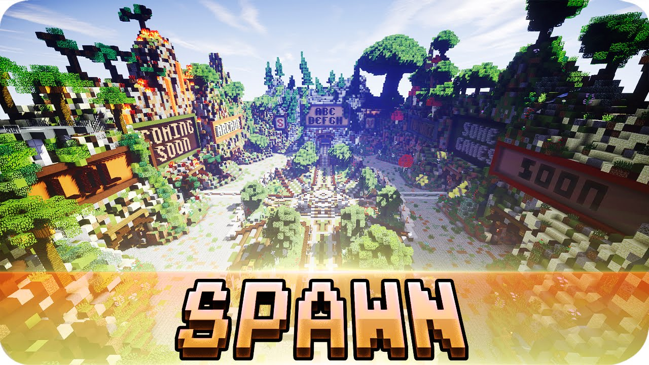 Minecraft free server spawn w/ download (factions, survival.