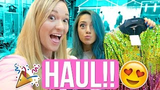 HUGE HAUL + SHOPPING WITH NIKI AND GABI!!!