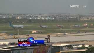 NET24 - Bandara Soekarno Hatta kurang landasan, maskapai dihimbau tidak menambah jadwal penerbangan