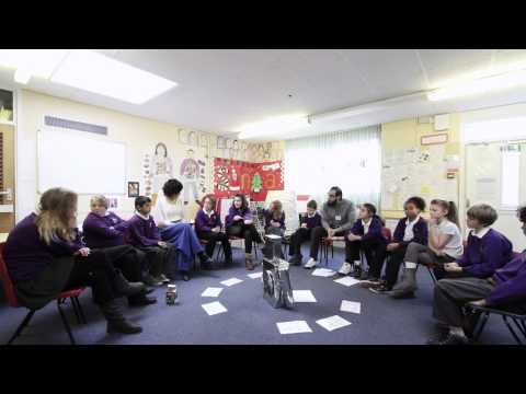 The Naughtybot: Philosophical enquiry with primary school children