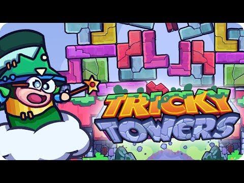 ¡CUATRO TORRES! ¡AL MISMO TIEMPO! | TRICKY TOWERS Con Sara, Luh Y Exo