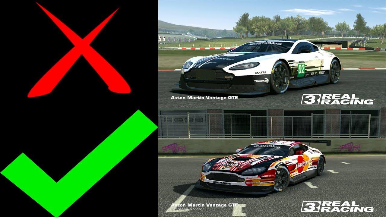 Real racing 3 skin mod como colocar skin mod nos carros