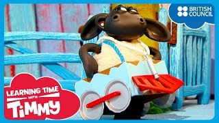 Membuat kereta [Make a Train] | Learning Time With Timmy