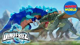 DINOFROZ episode 1   dinosaur cartoon for kids   THE ORIGIN   …