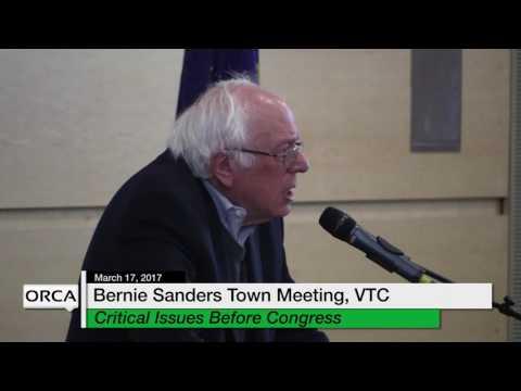 Bernie Sanders Town Meeting