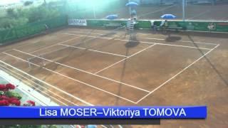 Lisa Moser - Viktoriya Tomova - Trofeul Popeci 2013