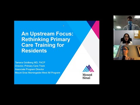An Upstream Focus: Rethinking Primary Care Training For Residents