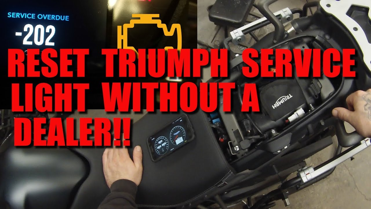 Reset Your Triumph Service Light Without A Dealer - Tune ECU
