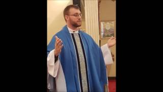 The 3rd Sunday of Advent -  December 11, 2016 (Homily @ 8 - Sermon @ 10)