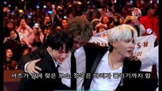 팬들을 감동시킨 방탄소년단 무대 뒤 힘들어하는 모습ㅠㅠ (맴찢 주의!) Behind the Stage @ BTS