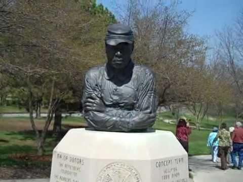 Diesel Engine Working >> Buffalo Soldier Monument, Fort Leavenworth, Kansas - YouTube