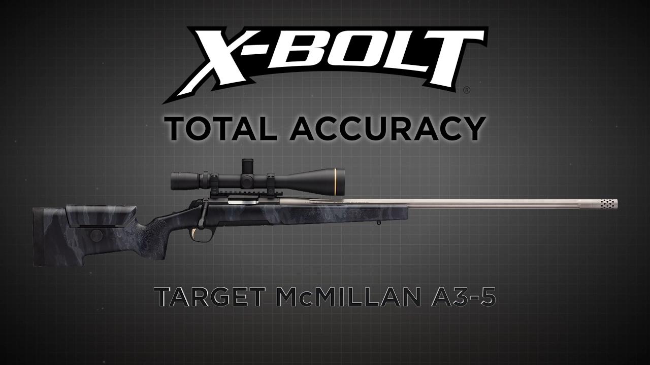 X-Bolt Target McMillan A3-5