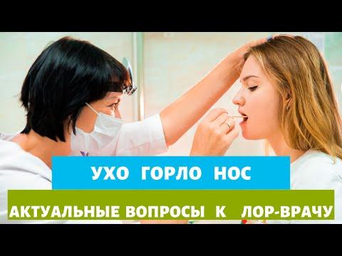 Ухо - Горло - Нос. Актуальные вопросы к Лор-врачу