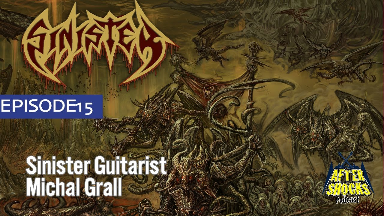 Does Death Metal Actually Calm People Down  - Sinister Guitarist Michal Grall