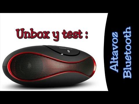 Altavoz Bluetooth | Unbox y test |  Comprado en Aliexpress $15 (FHD)