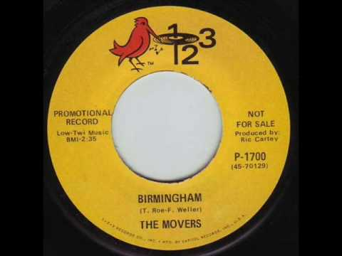 The Movers - Birmingham 1968