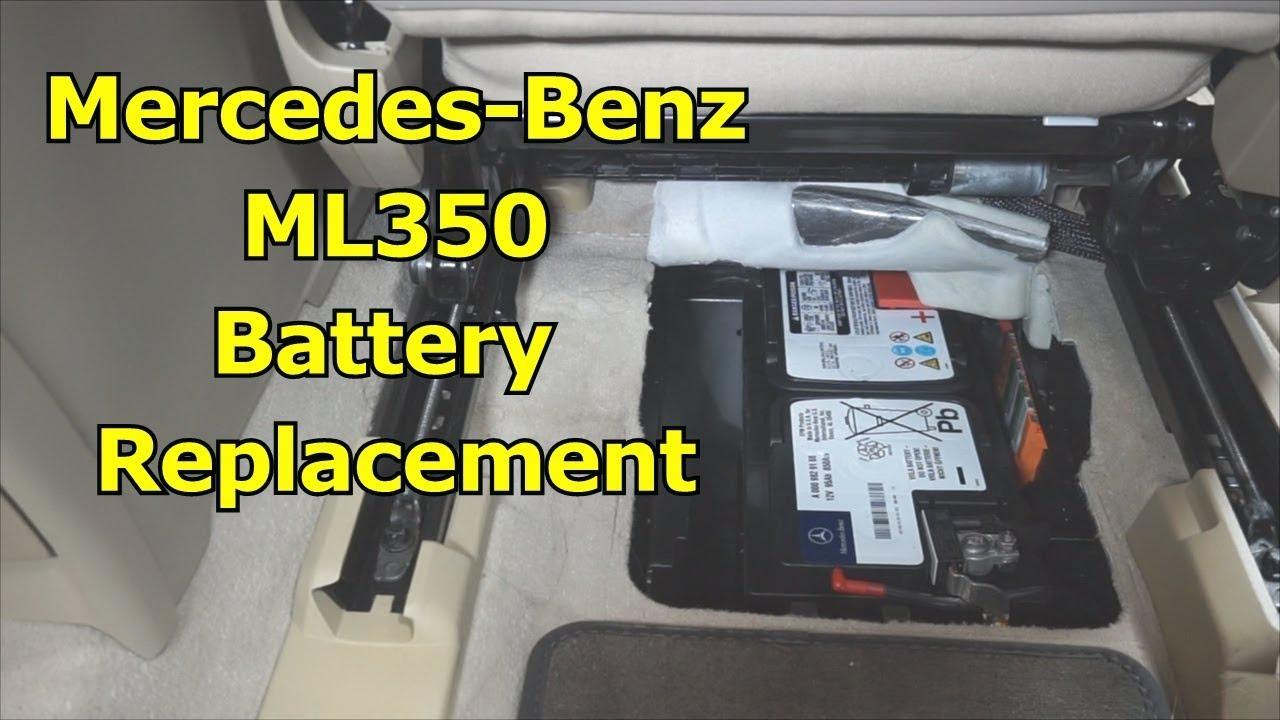 Mercedes Benz Ml320 Battery