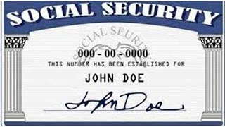 Social Security Number Used When Cashing In