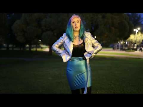 Walking the dog in a latex catsuit   Project L: Part 69