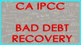 CA IPCC PGBP 71   Bad debt recovery    Section 41(4)